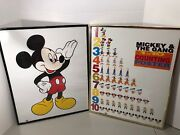 Vintage Disney Mickey And The Gang Counting Poster And Mickey Portrait 20x16
