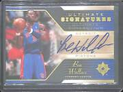 2004-05 Upper Deck Ultimate Collections Basketball Autograph Us-bw Ben Wallace