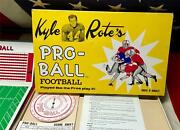Vintage 1962 Kyle Rote Pro-ball Football Board Game Complete W/box Ny Giants Nfl