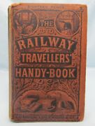The Railway Travellersand039 Handy-book Antique 1862 1st Ed 19th Century Scarce Guide