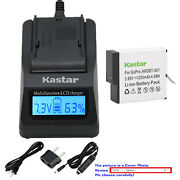 Kastar Battery Lcd Fast Charger Replace Genuine Gopro Ahdbt-601 Hero 6 Hd Black