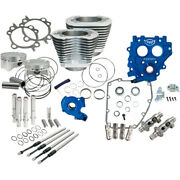 Sands Chain Drive Silver 100 Big Bore Power Package Kit 1999-2006 Harley Twin Cam