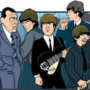 Beatles 40th Anniversary By Anthony Parisi Limited Edition Print