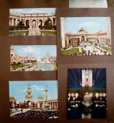 9 Beautiful Colored Prints Of Buildings At 1915 Pan-pacific Int. Expo. S.f.