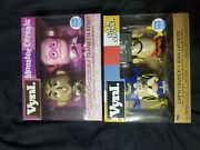 Funko Vnyl Count Chocula And Franken Berry 2-pack And Capand039n Crunch And Jean Lafoote