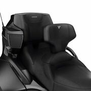 Can Am Spyder Rt Driver Backrest For Stock Seat Oem 219400679 2019 And Prior