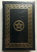 George H.w. Bush Real Hand Signed And 'ed All The Best Sealed Easton Press Book