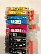 Lot Of 10 Canon Ink Cartridges 251xl And 250xl Empty