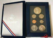 The 1993 Bill Of Rights Comm Coins. Prestige Set, 7 Proof Coins U. S. Mint. Case