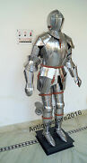 Medieval Knight Suit Of Armor Combat Full Body 15th Century Armour Collectible