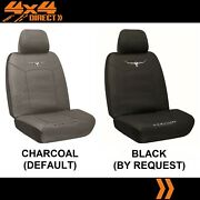 Single R M Williams Cotton Canvas Seat Cover For Mahindra Xuv500