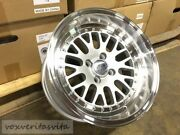 15 Lm20 Style Wheels Rims Aggressive Fitment 15x8 +0 Offset 4x100