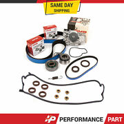 Timing Belt Kit Water Pump Valve Cover Gasket For 94-02 Honda F22b1 F23a1 F23a4