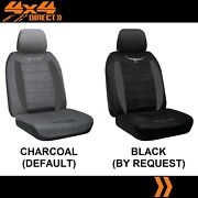 Single R M Williams Suede Velour Seat Cover For Land Rover Defender