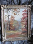 Beautiful Antique Oil Painting Dating Back Before 1900th Century