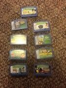 Leap Frog Green Leapster 2 Hand Held Video Game With 8 Games