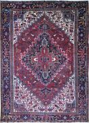 Authentic Wool Rnr-9117 8and039 5 X 11and039 8 Persian Heriz Rug