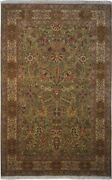 Authentic Wool 5' 9 X 9' 4 India Sultanabad Rug Rnr-9614