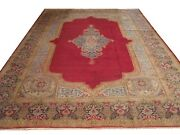 Authentic Wool Rnr-6804 8and039 9 X 12and039 1 Persian Kirman Rug