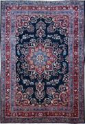 Authentic Wool Rnr-6850 6' 6 X 9' 3 Persian Mehad Rug