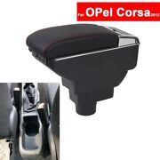 For Opel Corsa 2012 Car Center Console Storage Central Box Auto Armrests