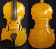 Strad Style Song Flames Back Concert Outdoor 4/4 Violin Powerful Sound 8212