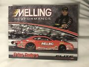 Erica Enders Signed Promo Card Nhra Photo Autographed 2018 Melling Pri