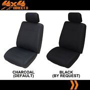 Single Premium Knitted Polyester Seat Cover For Mitsubishi Challenger
