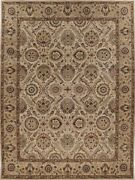 100 Wool Rug 10/14 Quality Hand Knotted In India 9x12 In2164-0003