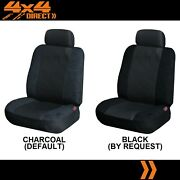 Single Jacquard And Suede Seat Cover For Ford Xr6 Ute