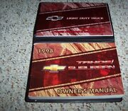 1998 Chevy Tahoe Suv Owner Ownerand039s Manual User Guide Set Lt Ls Cmi 5.7l 6.5l