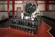 Root Rake Skid Steer Grapple Bucket Attachment For Case Machines 84 Wide