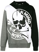 Mastermind Japan World Hoodie Black/white/grey Size Md Brand New With Tags