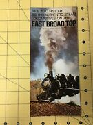 Ride Into History Behind Authentic Steam Locomotives East Broad Top Narrow Gauge
