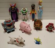 Disney Toy Story Movie Action Figures Figurines Lot Set Of 10