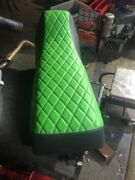 Yamaha Banshee Complete Seat Lime Green And Black Cover New Layerfoam 1987-2006