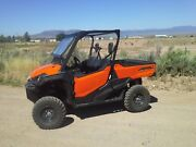 Honda Pioneer 1000 Tip Out Glass Windshield