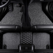 For Fit Toyota Sequoia 20082010 Car Double-layer Luxury Mats Easy To Care