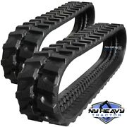 Two Rubber Tracks Fits Cat 303.5e 300x52.5x90 Free Shipping