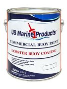 Lobster Buoy Paint Green Gallon - Us Marine Products - Green Buoy Coating