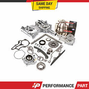 High Performance Timing Chain Kit Cover Water Pump Oil Pump For 85-95 Toyota 22r