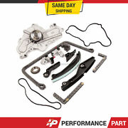 Timing Chain Kit Water Pump For 11-13 Mazda 6 Cx-9 Lincoln Ford 3.5 3.7l
