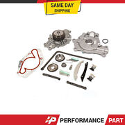 Timing Chain Kit Oil Pump Water Pump For 09-10 Dodge Magnum Chrysler 300 2.7
