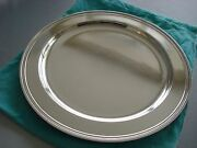 Sterling Silver Large 13 Tray Platter Salver Modern Mid Century