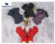 Agatha Smartphone Touch Padding Gloves With Free Gift And Free Shipping