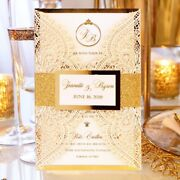 25 Beautiful Wedding Invitations With Envelope . Designed Approved Printed