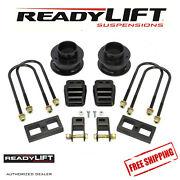 Readylift 3 Front Coil Spacers 1 Rear Sst Lift Kit Fits 2013-2019 Ram 3500 4wd