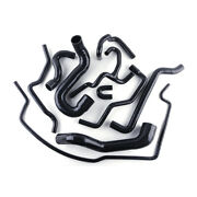 Fit For Saab 9-5 2.0t 2002-2007 03 04 05 06 Turbo Silicone Coolant Hose Black
