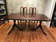 Vintage Duncan Phyfe 1940andrsquos Dining Table