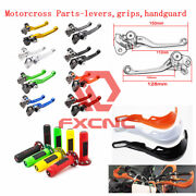 Pivot Clutch Brake Levers/handguard/handlebar Grips For Most Motorcycles Types